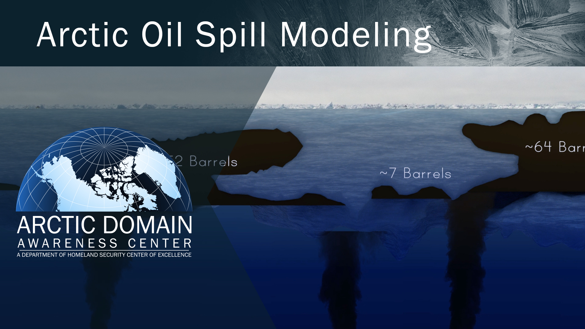 ADAC thumbnail showing oil spill graphic