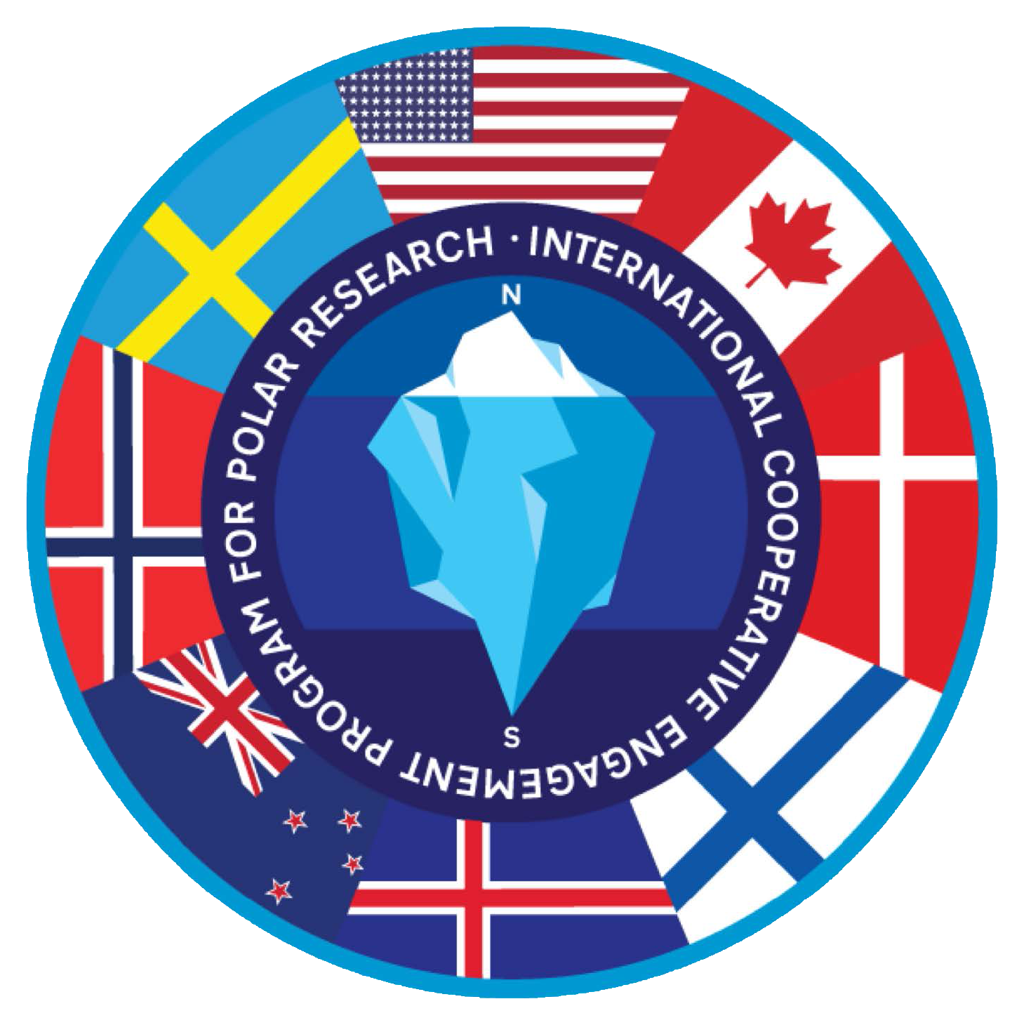 International Cooperative Engagement Program for Polar Research Logo