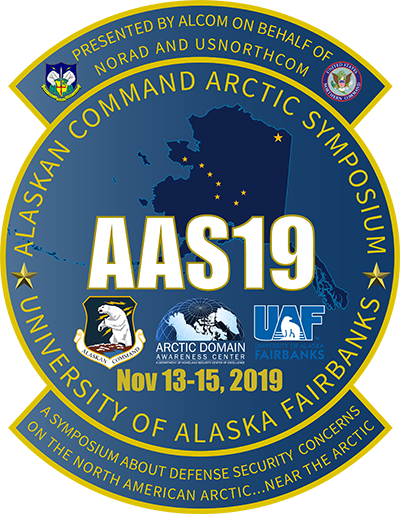 Alaskan Command Arctic Symposium 2019 Badge